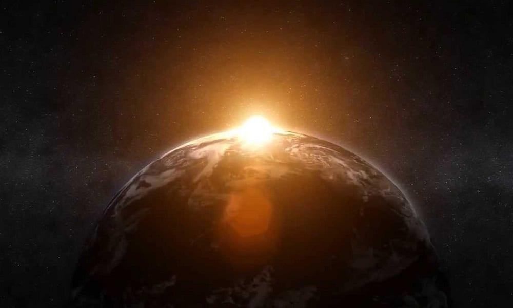 Astronauta registra imagens incríveis de como é o nascer do sol no espaço