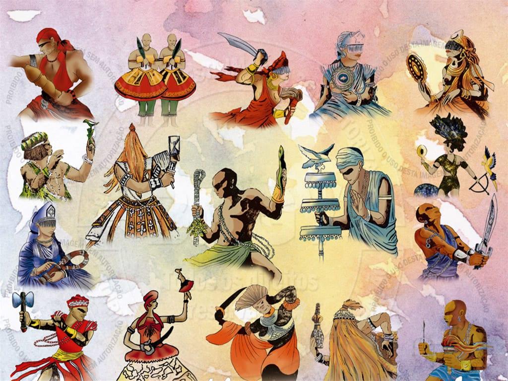 Ilustração da religião