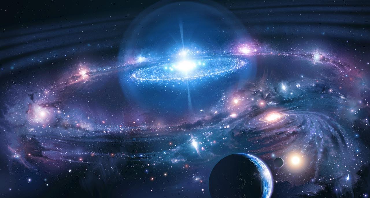 Ilustração do Universo