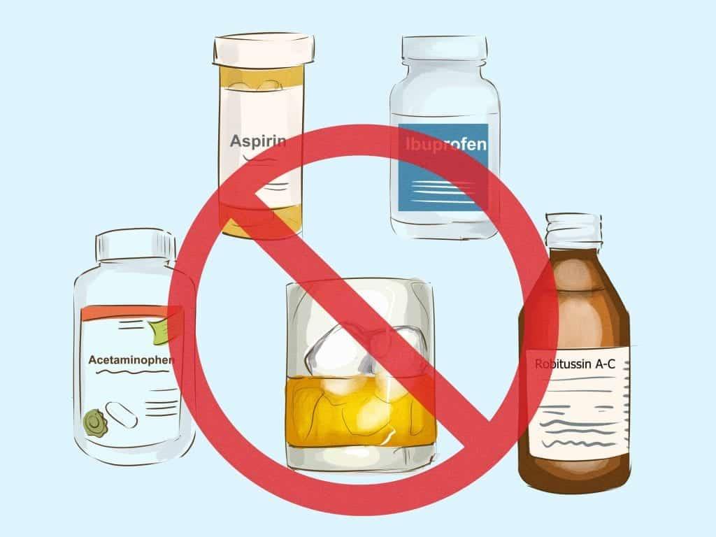 O que acontece se você misturar remédio e álcool?