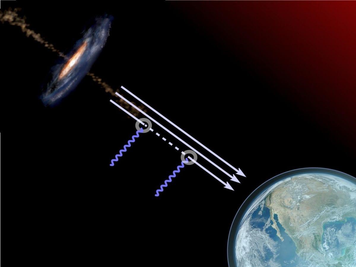 """Cientistas preveem que """"furacão de matéria escura"""" colidirá com a Terra"""