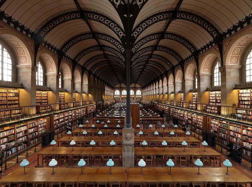 Fotógrafo italiano viaja para registrar as bibliotecas mais incríveis do mundo