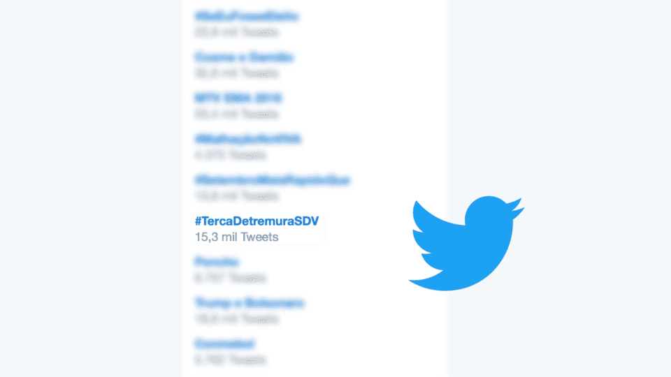 O que significa a hashtag #DetremuraSDV que sempre bomba no Twitter?