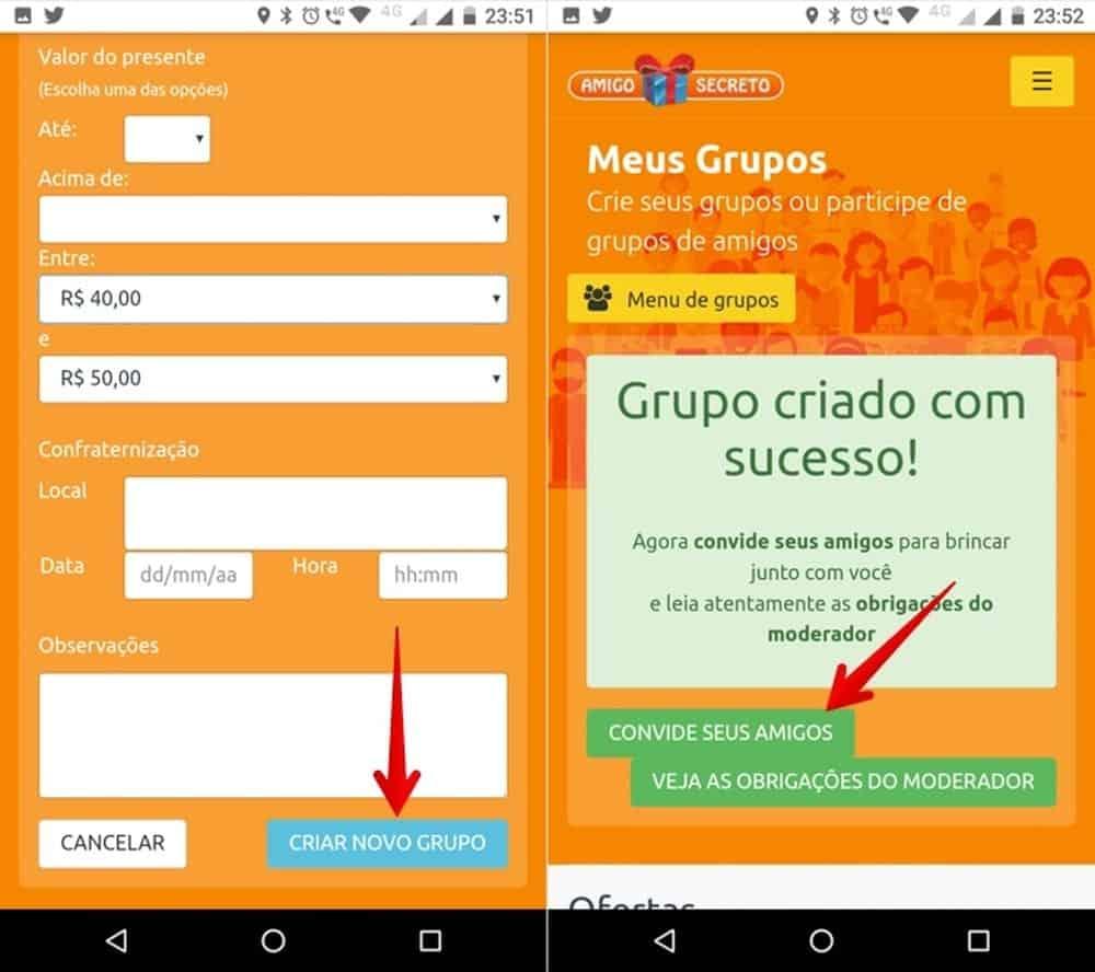 Amigo secreto: como fazer o sorteio online e enviar por WhatsApp