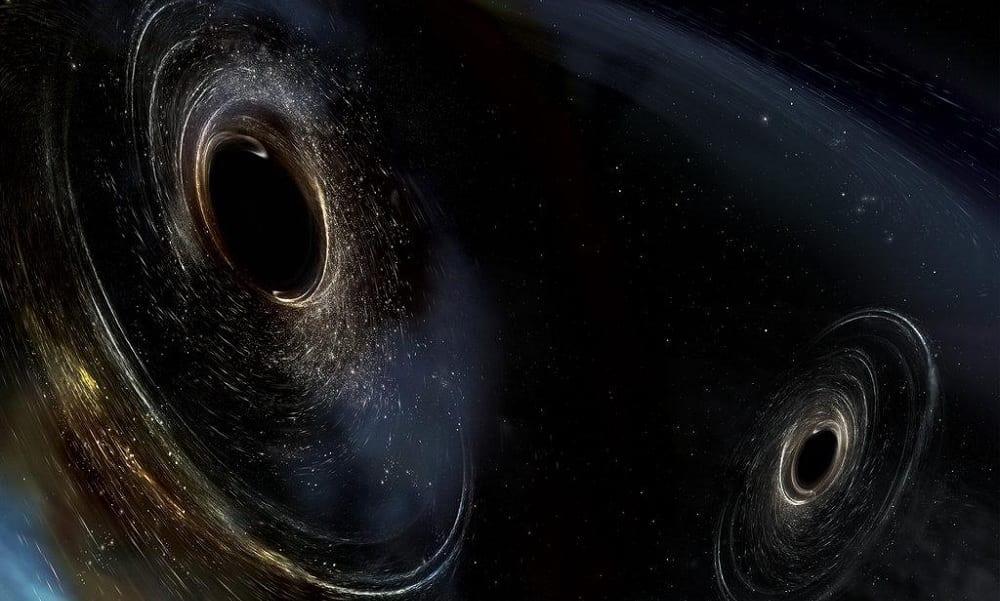 Detectada maior colisão de buracos negros já observada na Ciência