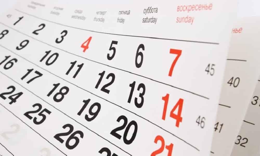 Confira os feriados de 2019 e saiba quais você vai poder emendar