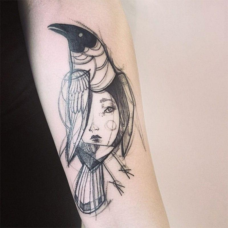 Como fazer tatuagem com lápis? [tatto temporária]