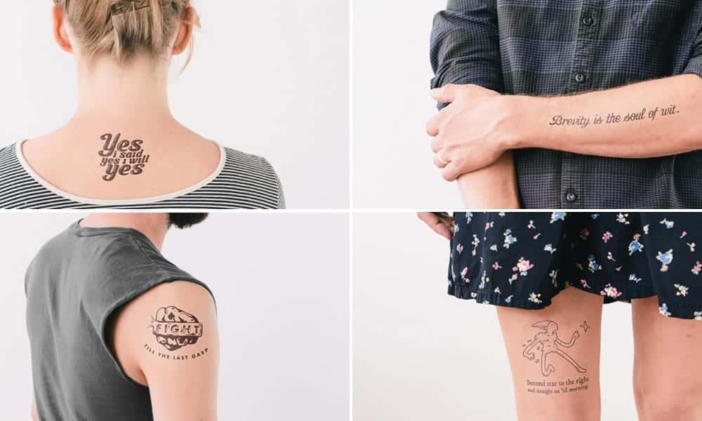 Como fazer tatuagem com lápis [tattoo temporária]