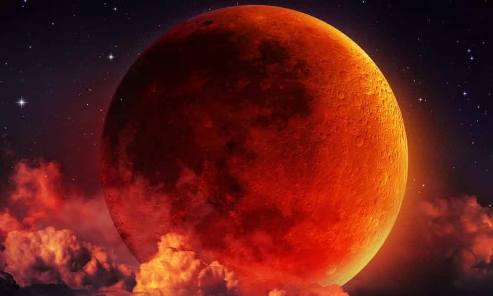 Eclipse da lua de sangue desse domingo poderá ser vista de todo Brasil!
