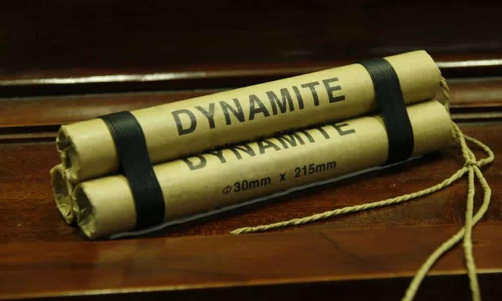 Quais são os explosivos mais perigosos inventados até hoje?