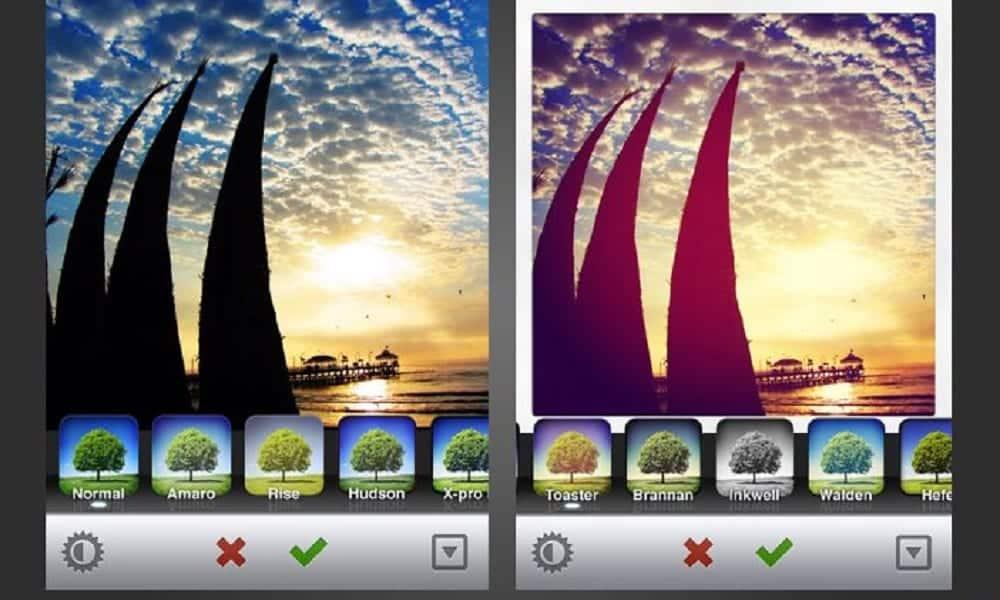 Quais são os filtros mais usados no Instagram?