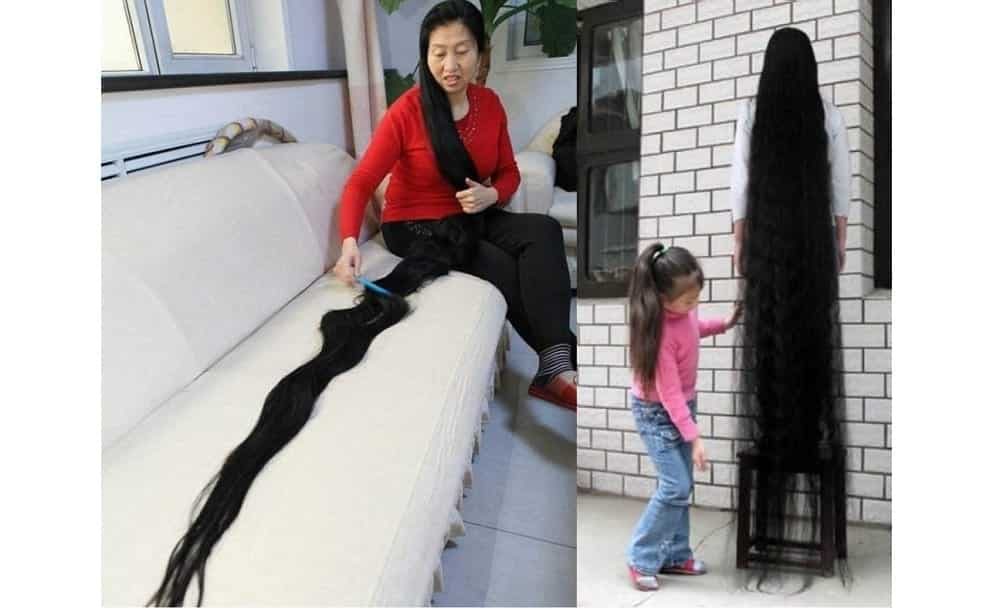 Conheça a chinesa com o cabelo mais longo do mundo