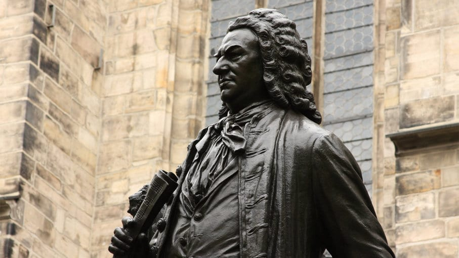 Johann Sebastian Bach, busto
