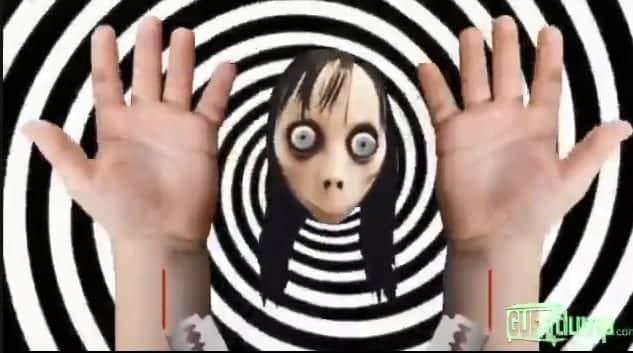 Momo aparece nos vídeos infantis pedindo as crianças que se matem