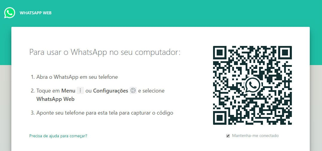 Whatsapp Web, como usar no celular