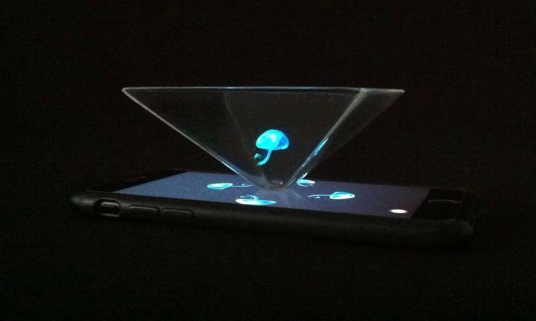 Cientistas criam holograma 3D [e como fazer uma versão com celular]