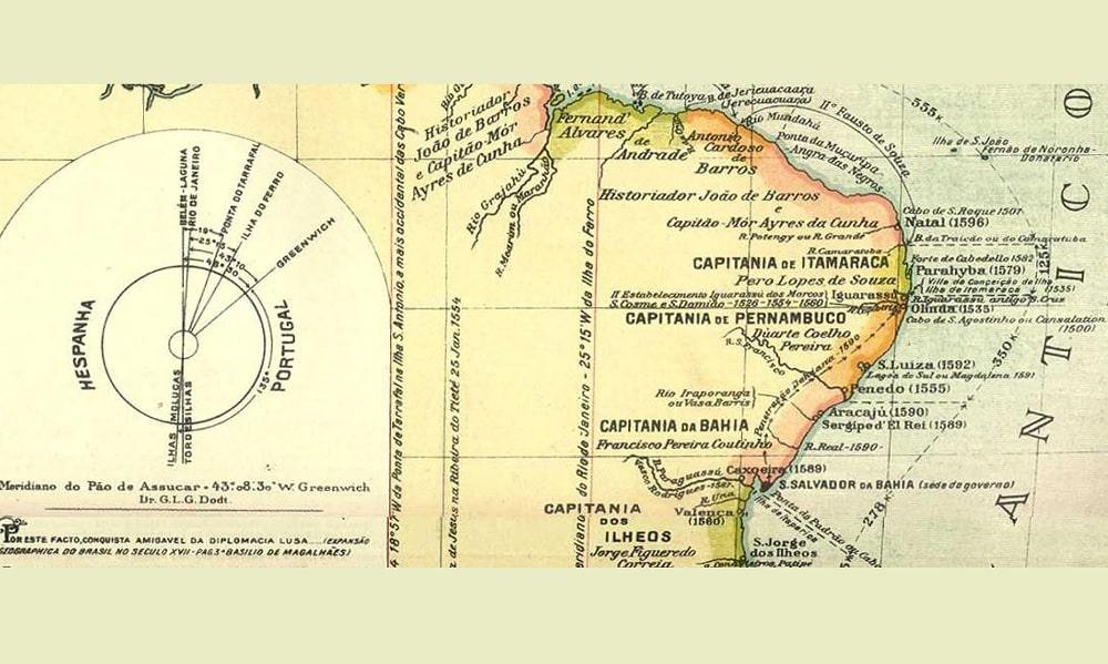 Capitanias hereditárias, o que eram, mapas e curiosidades do período
