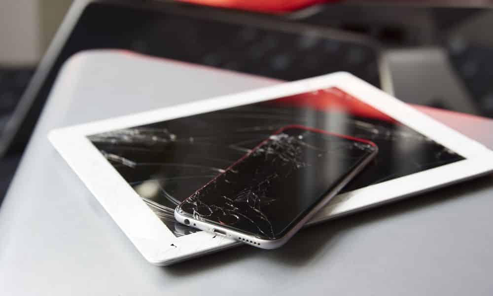 Tela quebrada, o que você pode fazer se a tela do celular quebrar