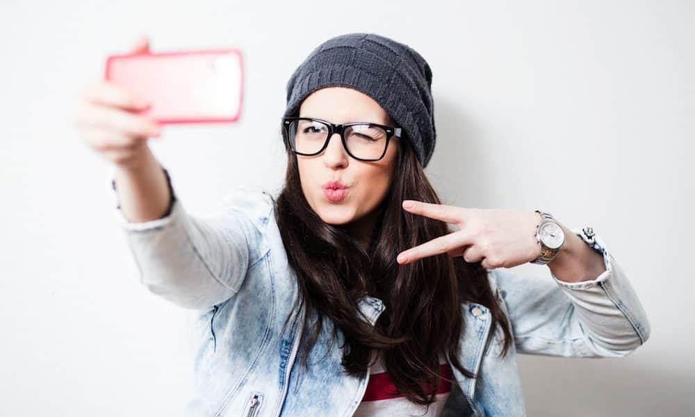Câmera frontal, o recurso não foi feito exatamente para tirar selfie