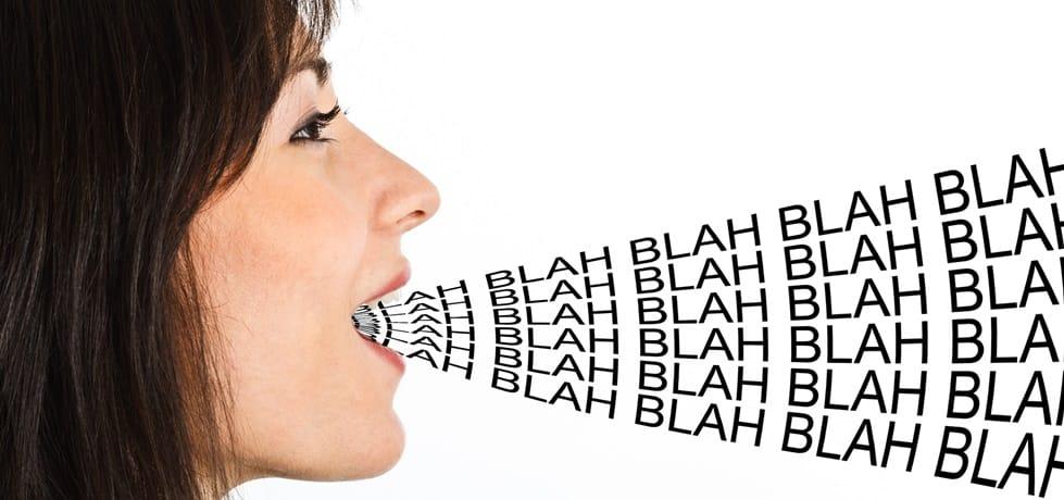 Como falar menos e pedir para alguém calar a boca