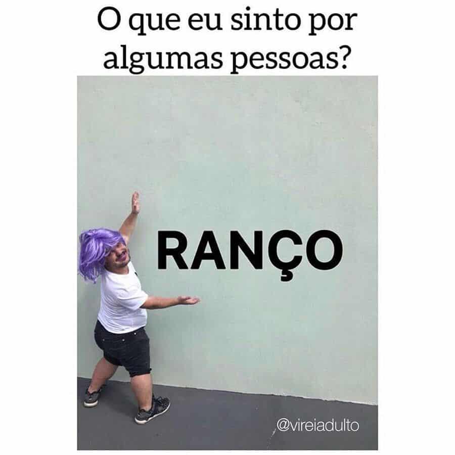 Descubra a origem da palavra ranço, a gíria mais falada na web