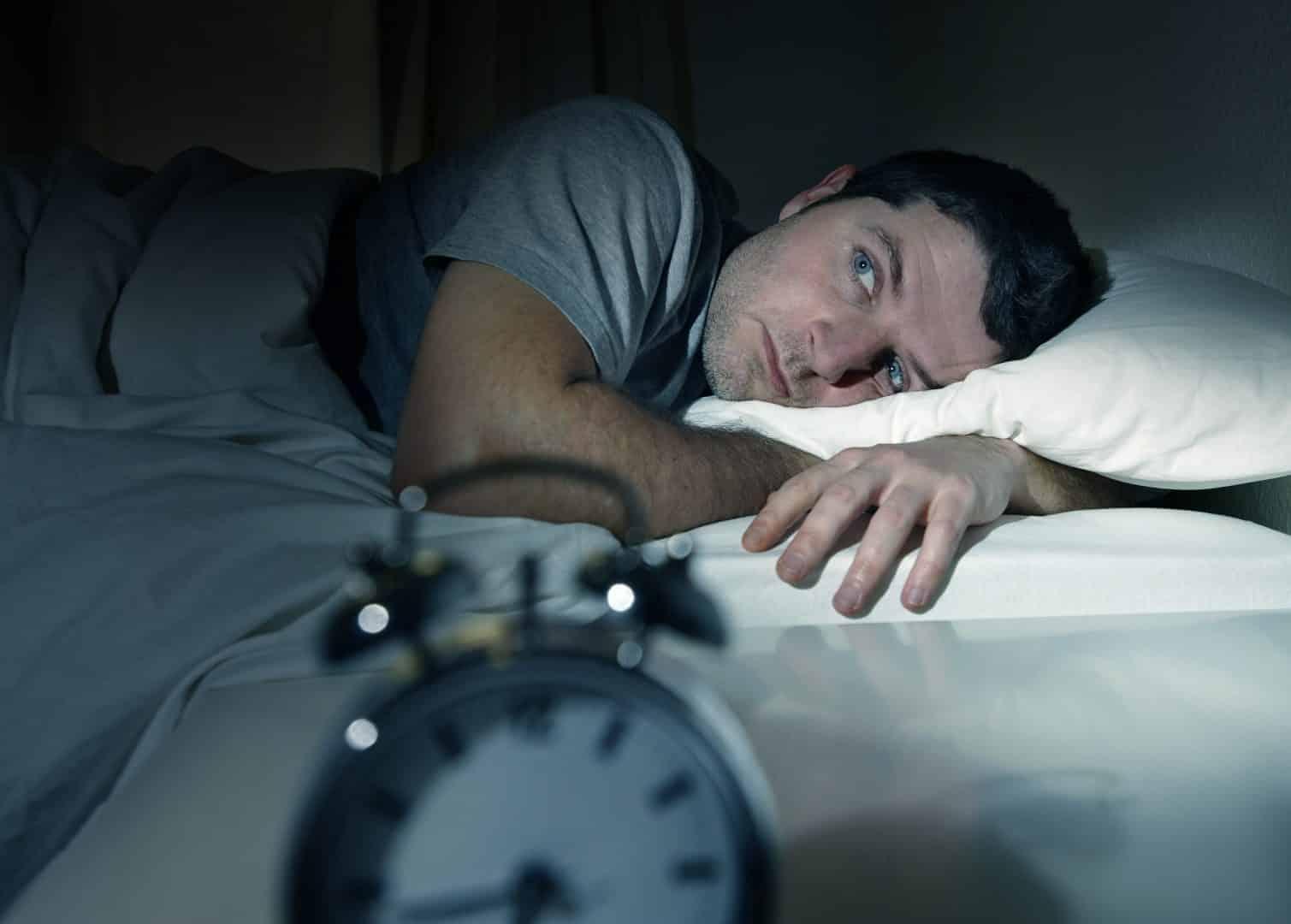"""""""Eu não consigo dormir, toda noite é a mesma coisa"""""""