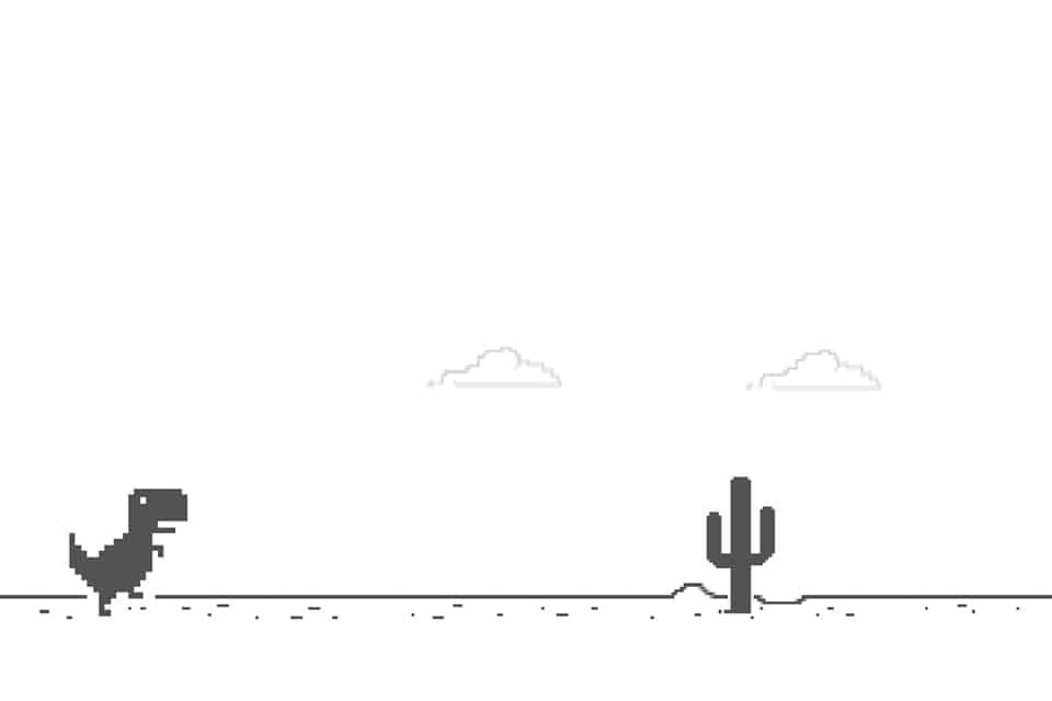 Já jogou o jogo do dinossauro quando está sem internet? Vem saber mais