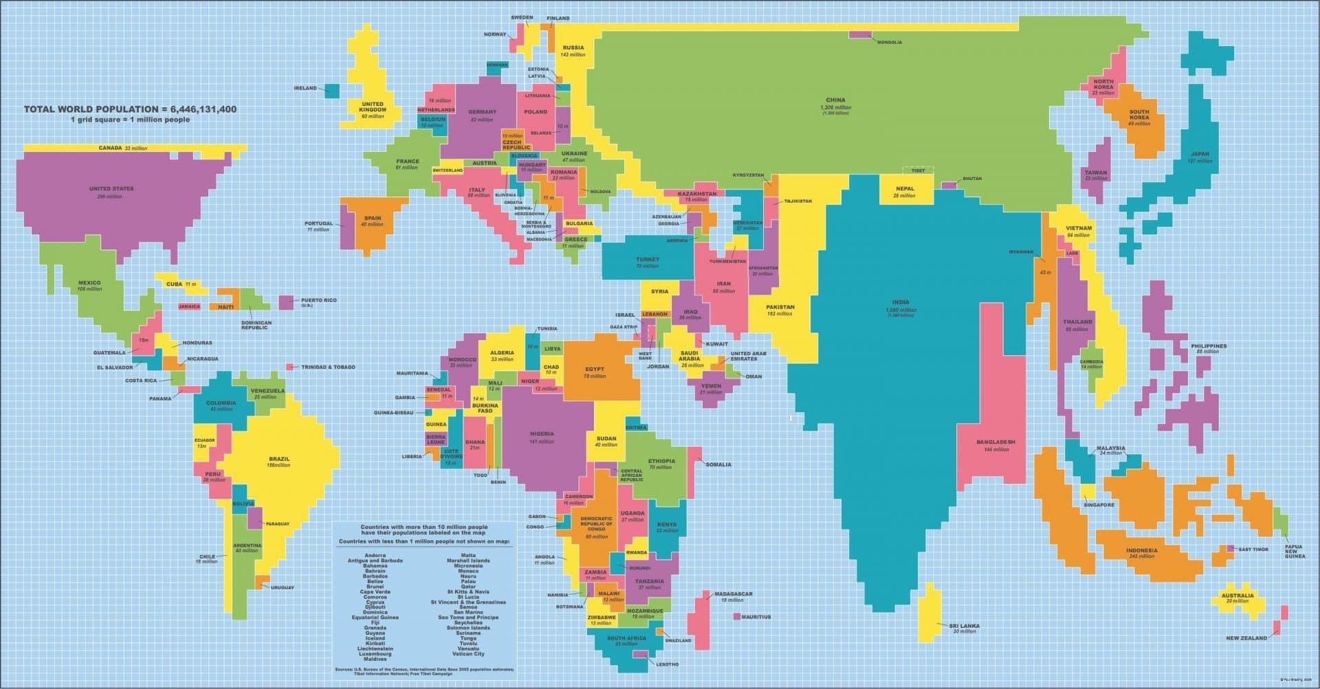 Mapa do mundo, 63 versões que você não aprende na escola