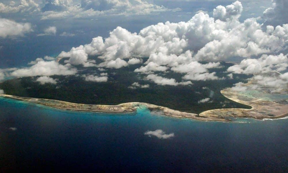 Menor ilha do mundo é do tamanho de uma quadra de tênis