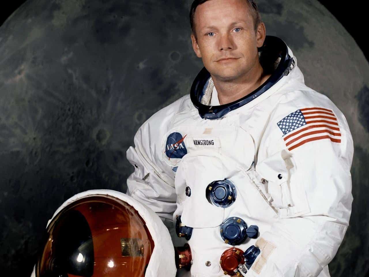 Primeiro homem a pisar na lua: Neil Armstrong e sua trajetória de vida