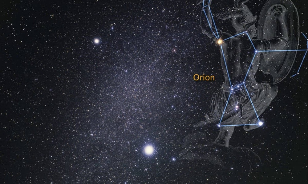Constelação de Orion - o representa, mitologia e como vê-la no céu