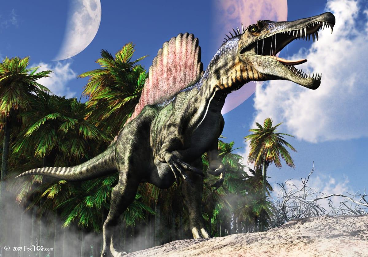 Espinossauro - O maior dinossauro carnívoro do Cretácio