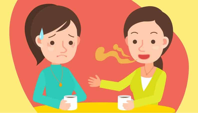 Mau hálito - quais são as causas e o tratamento do problema