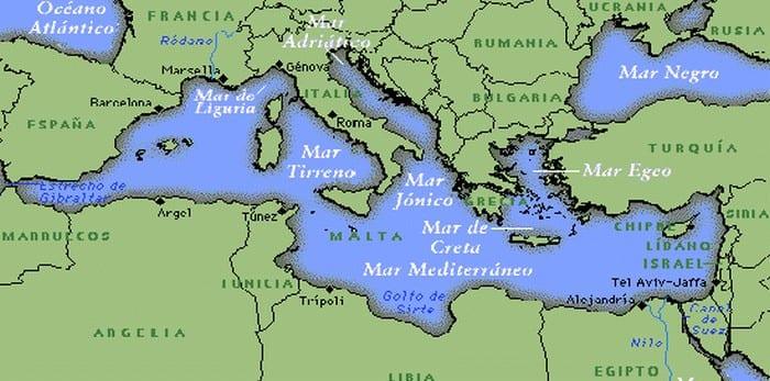 Descubra agora quais são os famosos sete mares do mundo