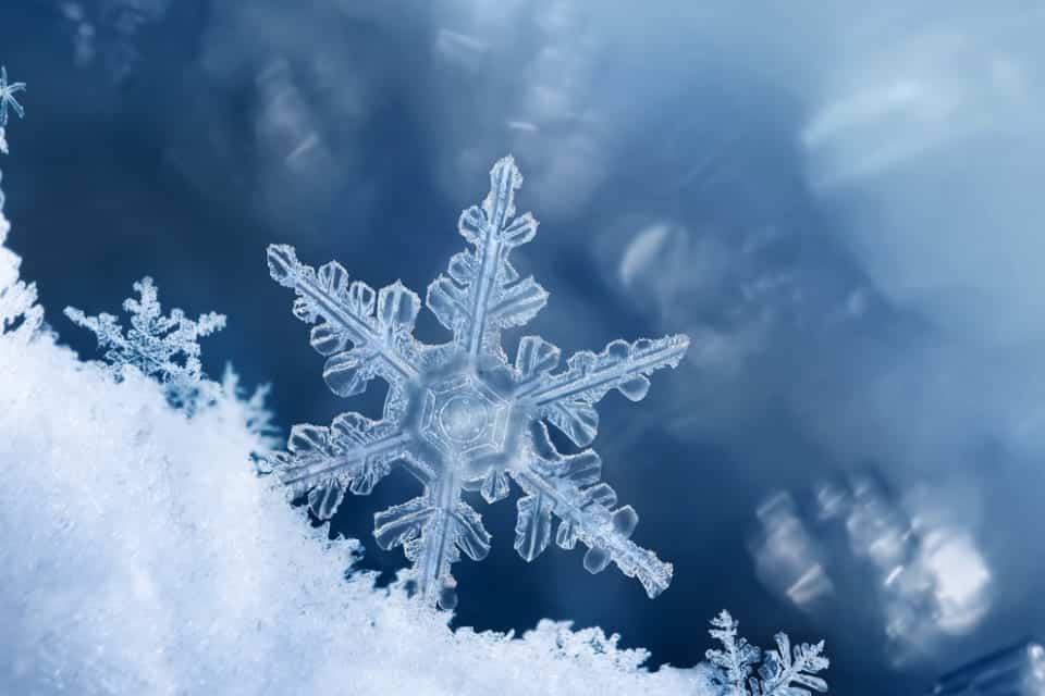 Como são formados os flocos de neve [curiosidade]