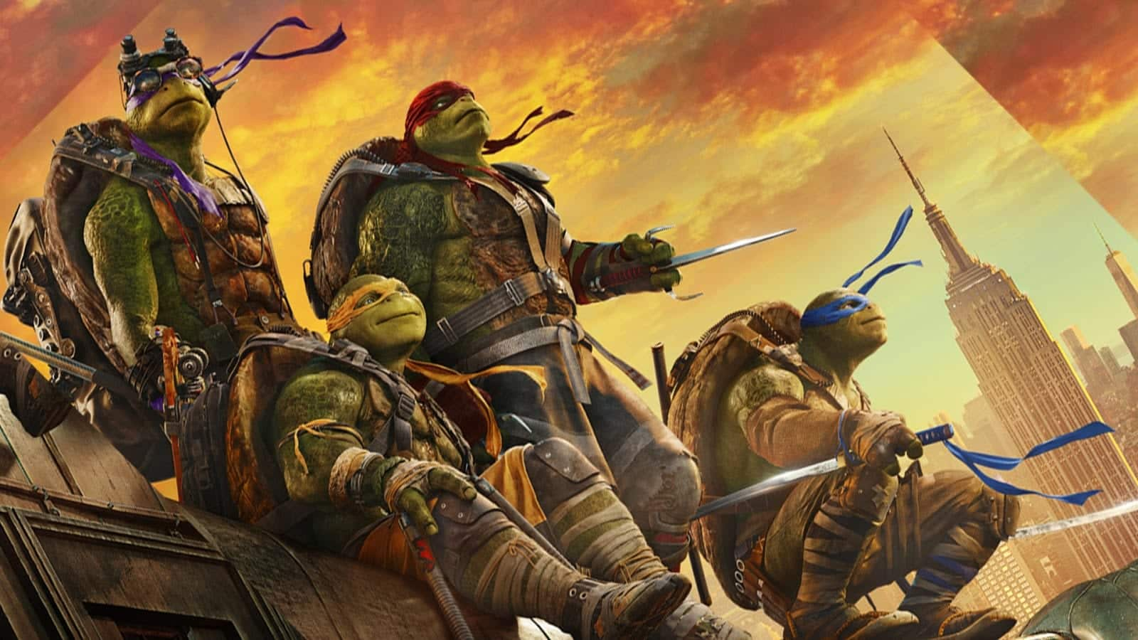 Tartarugas Ninjas- História completa, personagens e filmes