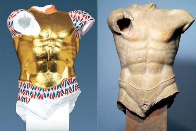 Estátuas gregas - Como elas realmente eram?