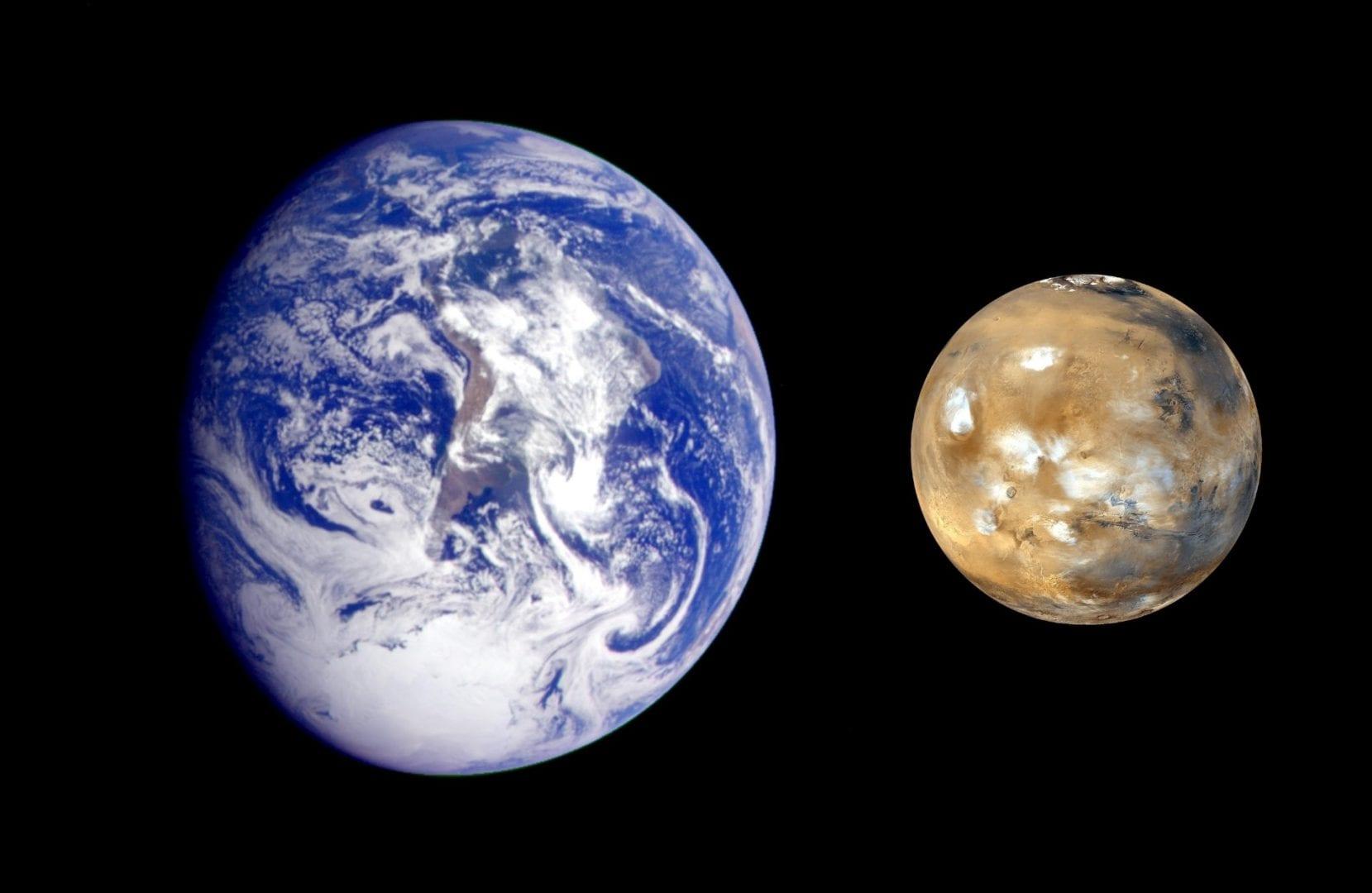 Marte – o famoso planeta vermelho do nosso sistema solar