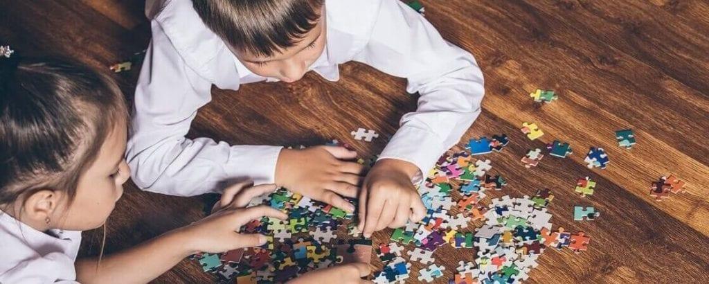 Quebra-cabeça - descubra sua origem e seus benefícios psicomotores