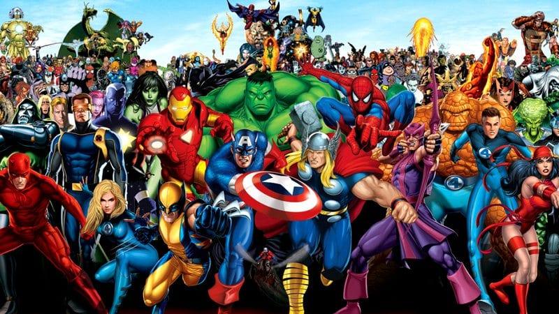 Super-heróis – Top 10 mais populares dos quadrinhos de todos os tempos