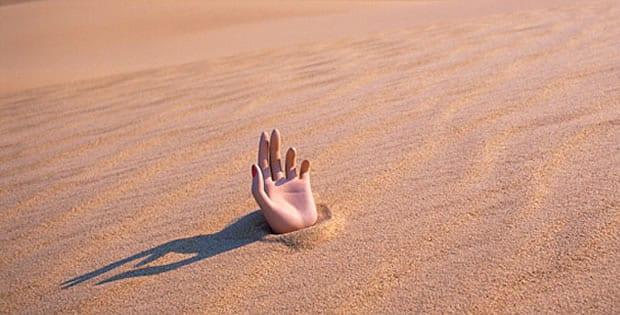 Areia movediça - Tudo o que você precisa saber para sobreviver a ela
