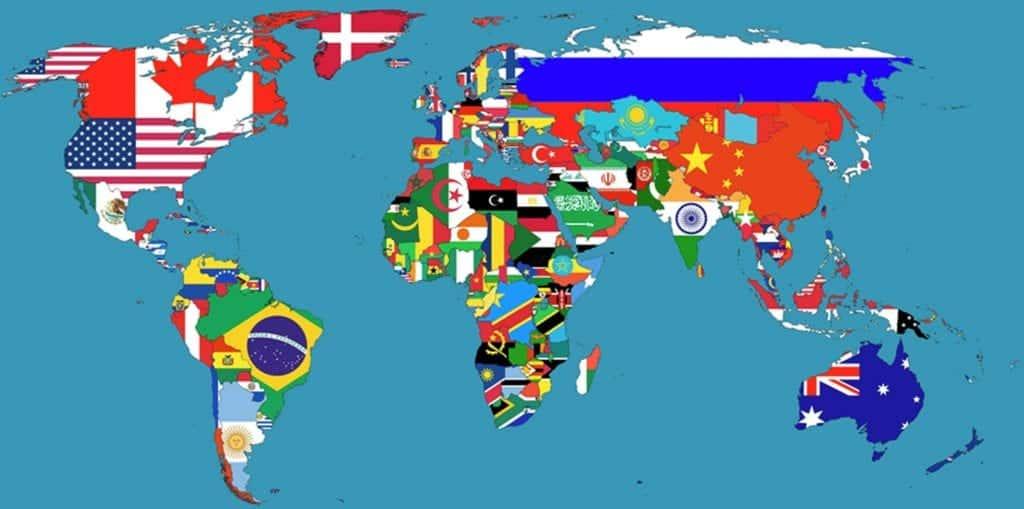 Maiores países do mundo – Conheça os 15 primeiros