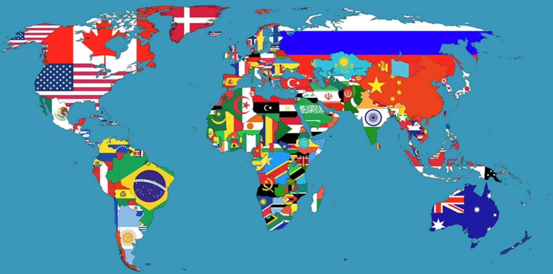 Maiores países do mundo - Conheça os 15 primeiros