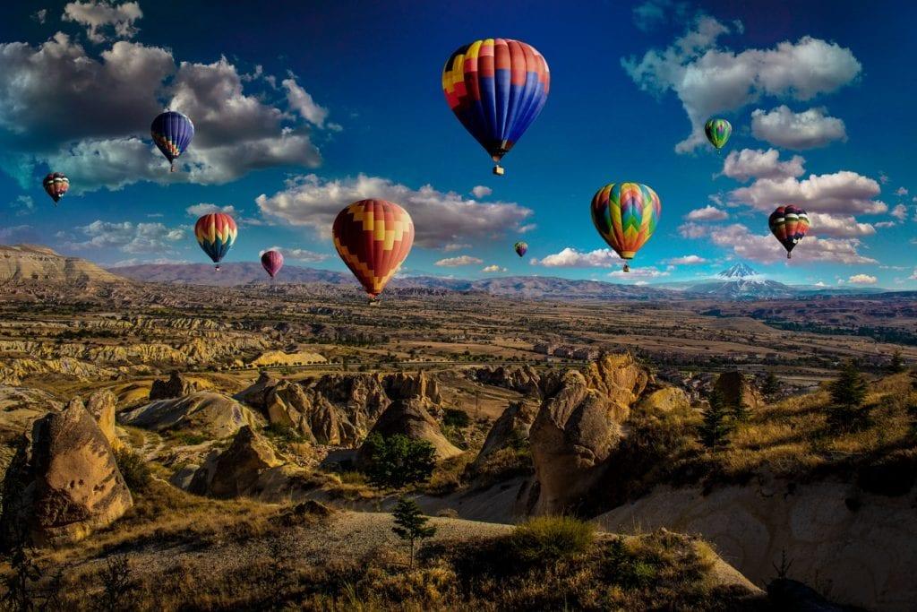 Balão de ar quente – O que é, como surgiu, como é controlado
