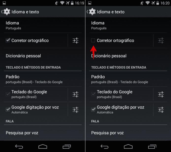 Corretor automático - como configurar corretamente em Android, iOS e Gboard