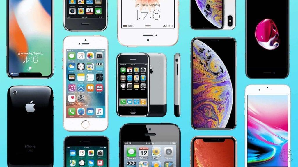 Todos os modelos de iPhones lançados pela Apple: lista completa