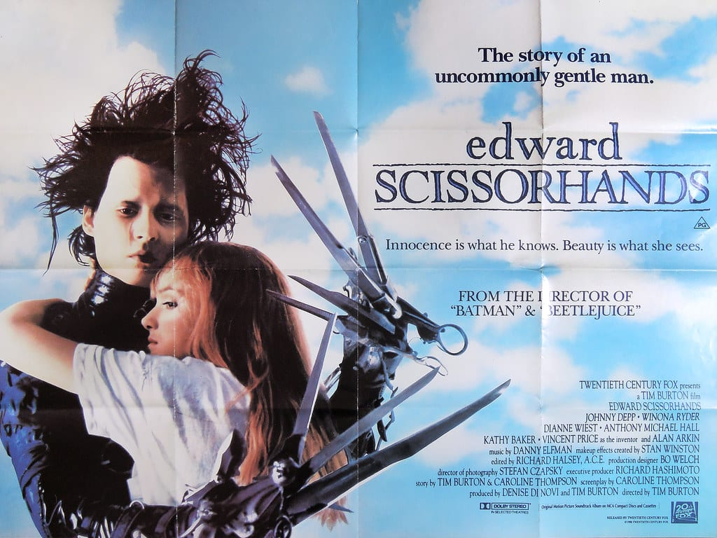 Edward Mãos de Tesoura - 11 curiosidades sobre o clássico de Tim Burton