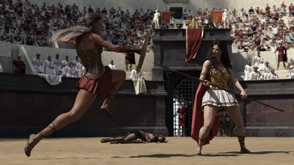 Gladiadoras – Quem foram, história, evidências e lutas