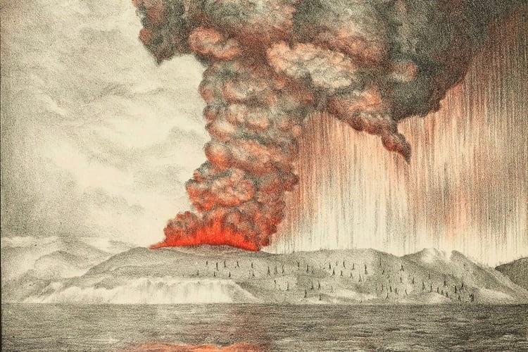 Krakatoa - a história do vulcão que destruiu uma ilha na Indonésia