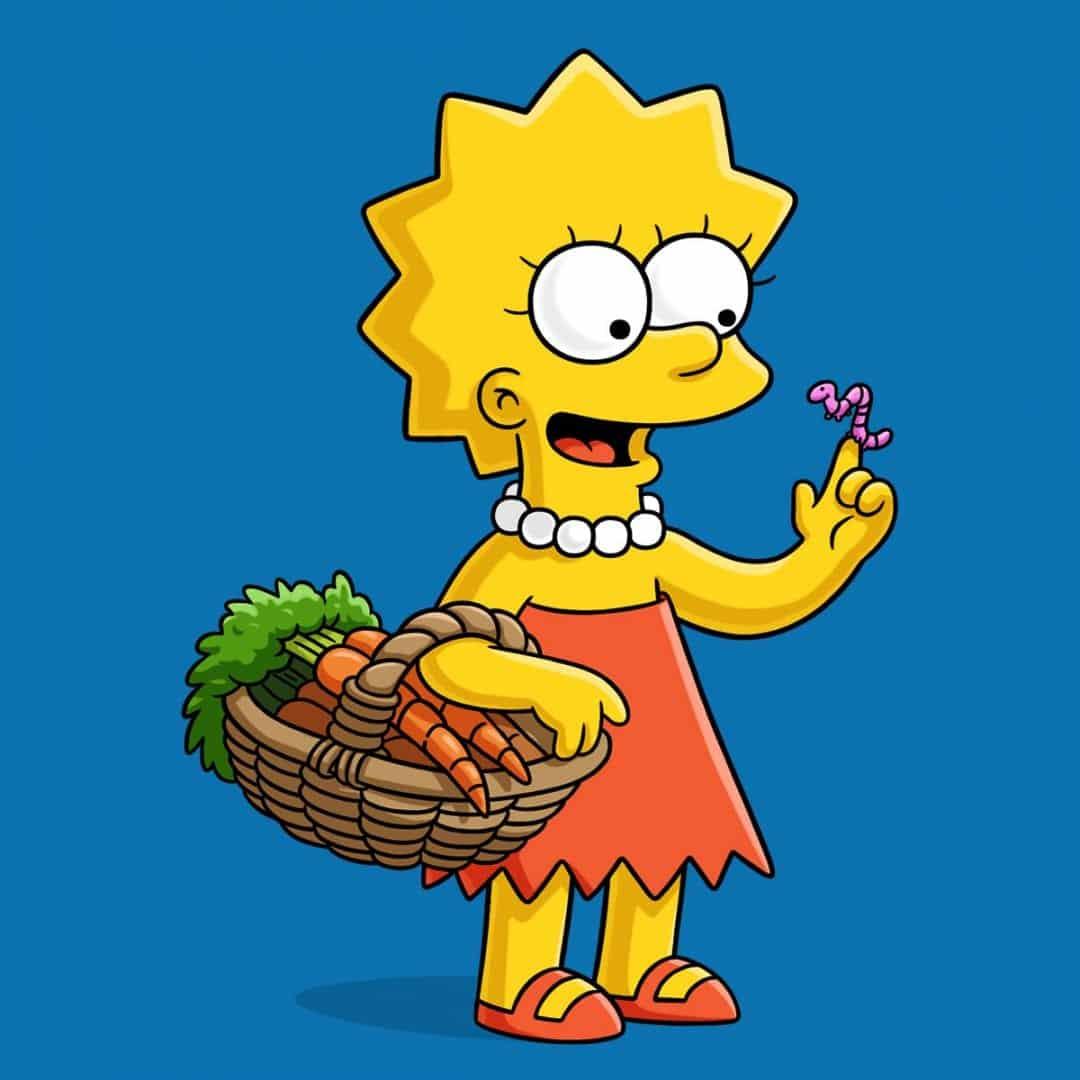 Lisa Simpson - a complexidade da filha inteligente de os Simpsons